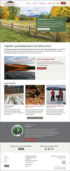 Monadnock Conservancy website