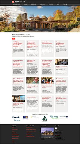 AIA Vermont website