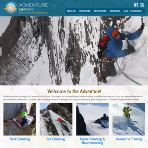 Vermont website with responsive web design